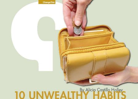 Les 5 Plus Belles Perles de « 10 Unwealthy Habits » de Alicia Castillo