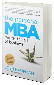 """Les 5 Plus Belles Perles de """"The Personal MBA"""" de Josh Kaufman"""