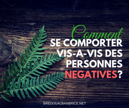 Personnes Négatives